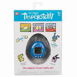 Bandai Original Tamagotchi Metallic Blue
