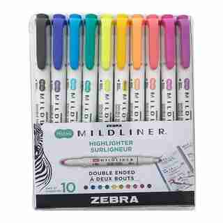 Zebra Mildliner 10-Pack Assorted