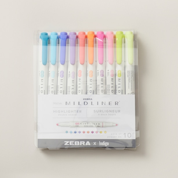 Mildliner Highlighter Assorted 10pk