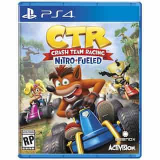 CRASH TEAM RACING: NITRO FUELED   PS4