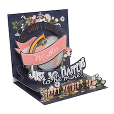 Paper E. Clips Mother's Day Card Worlds Greatest Mom