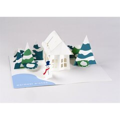 Up With Paper Holiday House Pop Up Boxed Cards, Set of 6