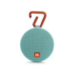 JBL Clip 2 Portable Bluetooth Speaker- Teal