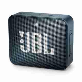 JBL GO 2 Portable Bluetooth Speaker - Navy