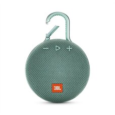 JBL Clip 3 Portable Bluetooth Speaker - Teal