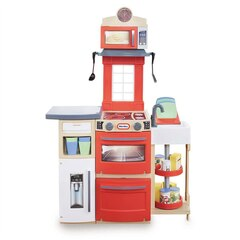 Little Tikes Cook N' Store Kitchen (Red)