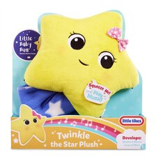 Little Baby Bum Twinkle, Twinkle Little Star Soothing Plush Toy Official by Little Tikes