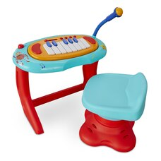 Little Baby Bum Sing-Along Piano Musical Station Keyboard with Working Microphone by Little Tikes