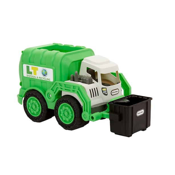 Little Tikes Garbage Truck Toy Truck Dirt Diggers | Play Indoors or Outdoors in the Sand or Dirt