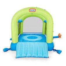 Parc de jeu gonflable 2 en 1 aquatique ou non aquatique Splash 'n Spray pour enfants