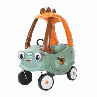 T-Rex Cozy Coupe Dinosaur Ride-On Car for Kids