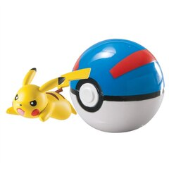 Pokemon Clip and Carry Poke Ball (Styles May Vary)