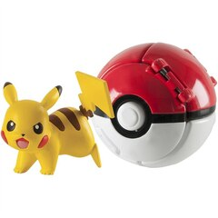 Pokemon Throw N Pop Poke Ball 2 inch Action Figure with Poke Ball  (Styles Will vary)