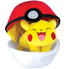 POKEMON ZIPPER POKE BALL PLUSH PIKACHU
