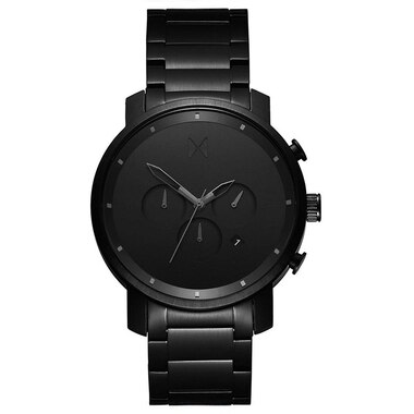 MVMT MEN'S CHRONO 45 COLLECTION WATCH - BLACK LINK, SIZE 45mm