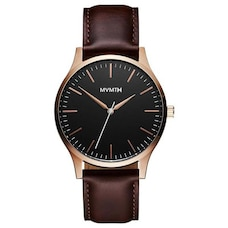 MVMT MEN'S 40 SERIES COLLECTION WATCH - ROSE GOLD BROWN, SIZE 40mm