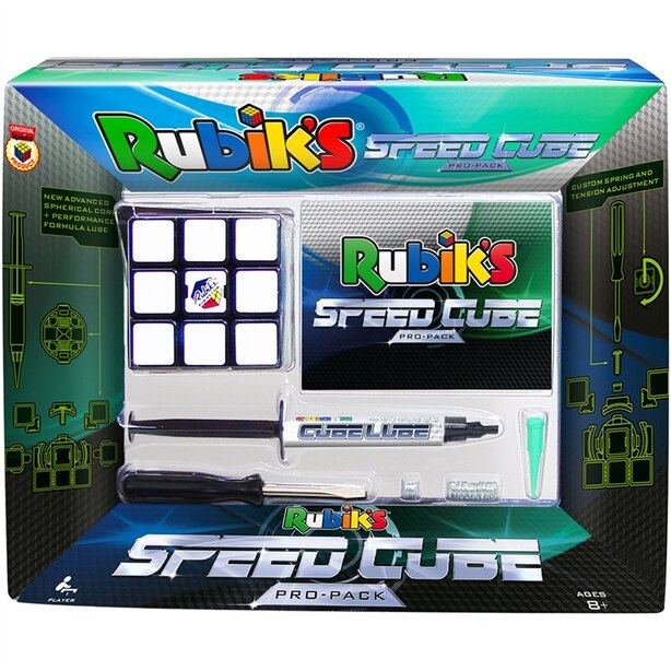 Rubik's Speed Cube Pro Pack with Adjustable Tensions