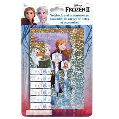DANAWARES FROZEN II FOIL STATIONERY SET