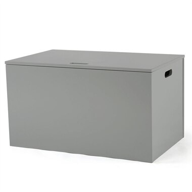 Tot Tutors Inspire Kids Furniture Toy Box Grey