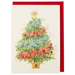 Aria Ombre Tree Holiday Boxed Cards