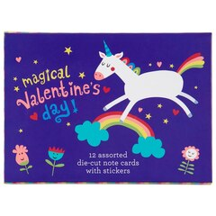Valentine's Day Cards Pack - Unicorns and Rainbows