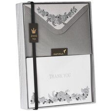 Floral Garland Thank You Boxed Notes