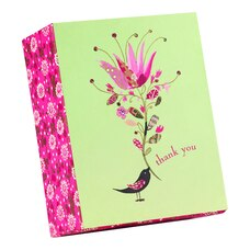 Papyrus Boxed Cards Singing Bird 20-Count