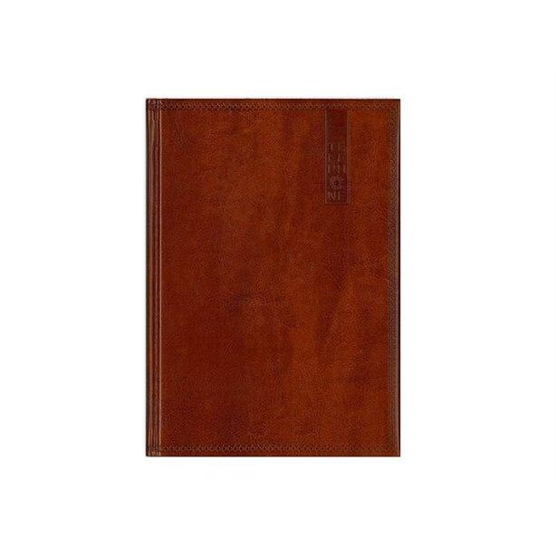 Pierre Belvedere Address Book - Antique Wood