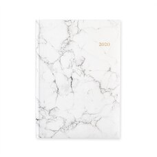 2020 12-MONTH PLANNER WHITE MARBLE