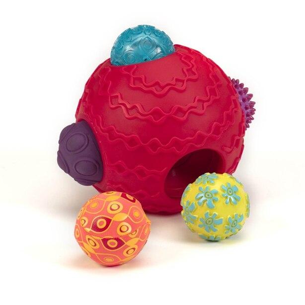 Ballyhoo™ BALL: 1 BIG BALL + 5 SMALL BALLS INTO ONE!