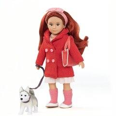 "Lori 6"" Doll & Husky Dog - Bryn & Blaze"