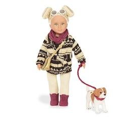 "Lori 6"" Doll & Jack Russell - Dakota & Duke"