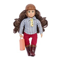 """LORI 6"""" Riding Doll - Teagan"""