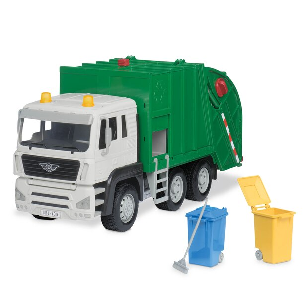 Driven Recycling Truck with Realistic Lights & Sound