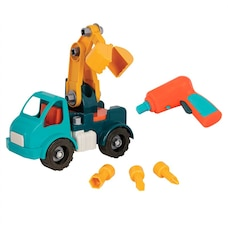 Battat® Take-Apart Crane Truck Construction Kit