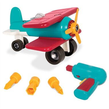 Battat® Take-Apart Airplane Construction Kit