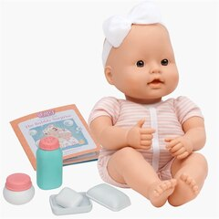 "BABY SWEETHEART BATH TIME, 12"" BABY WITH BOOK"