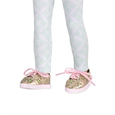 Stary Sneakers! Glitter Sneakers with Stars & Leggings