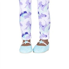 Stepping Starlight! Glitter Shoes with Stars & Leggings