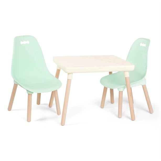 B. Kid Century Modern, Mint Table & Chair Set