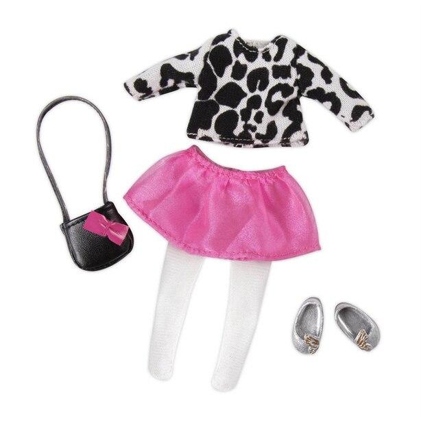 "Lori 6"" Doll Cardigan & Skirt Outfit"