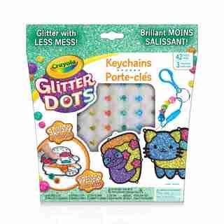 Crayola Key Chains Glitter Dots