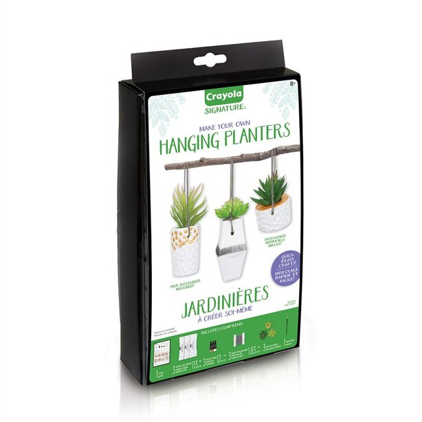 Crayola® Signature Make Your Own Hanging Planters