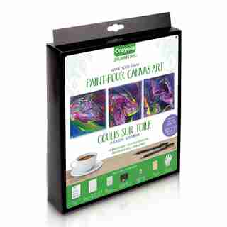 Crayola® Signature Make Your Own Paint-Pour Canvas Art