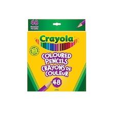 Crayola 48ct Coloured Pencil