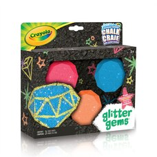 Crayola Sidewalk Chalk - Glitter Gems