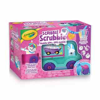Spa mobile Scribble Scrubbie Crayola
