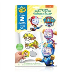 Crayola Paw Patrol Colour and Shapes Sticker Activities