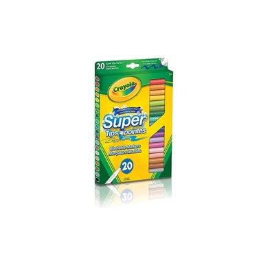 Crayola 20 Washable Super Tips