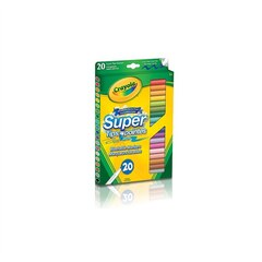 Crayola 20 Washable Super Tips